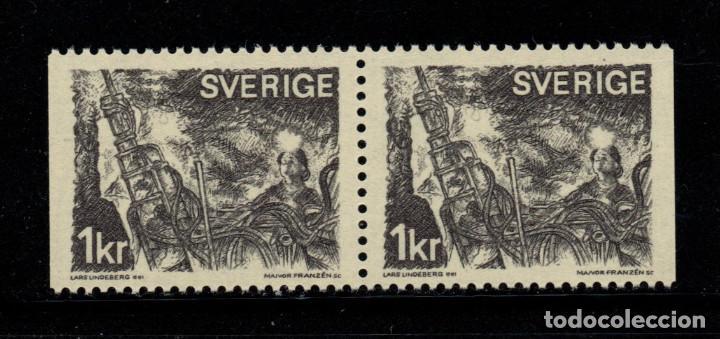 SUECIA 664B** - AÑO 1970 - EXPLOTACION MINERA (Sellos - Extranjero - Europa - Suecia)