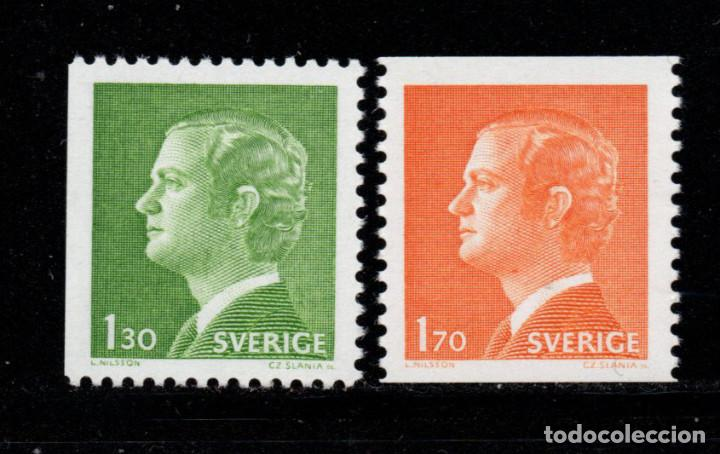 SUECIA 993/94** - AÑO 1978 - REY CARLOS GUSTAVO XVI (Sellos - Extranjero - Europa - Suecia)