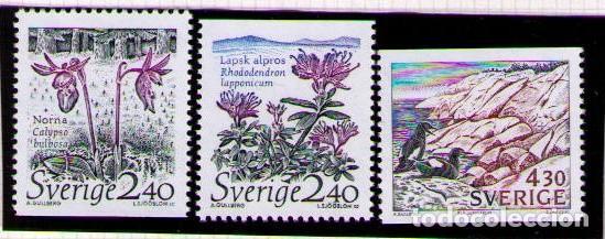 SUECIA 1985 - PARQUES NACIONALES - YVERT Nº 1548/1550** (Sellos - Extranjero - Europa - Suecia)