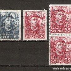 Sellos: SUECIA.1969. YT 613, 614, 613B. Lote 269580263