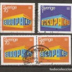 Sellos: SUECIA.1969. YT 615, 616, 615B. Lote 269580393