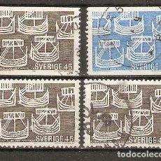 Sellos: SUECIA.1969. YT 611,612. Lote 269580773