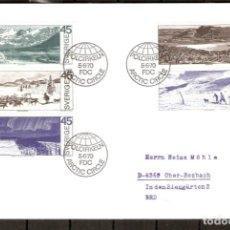 Sellos: SUECIA. 1970. FDC. CIRCULO POLAR ÁRTICO.. Lote 269587518