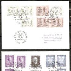 Sellos: SUECIA. 1969-70. FDC. PREMIOS NOBEL. Lote 269587958