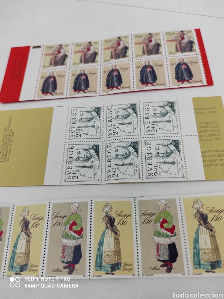 Sellos: Tres carnets de sellos de Suecia nuevos de los 80 - Foto 3 - 269745583