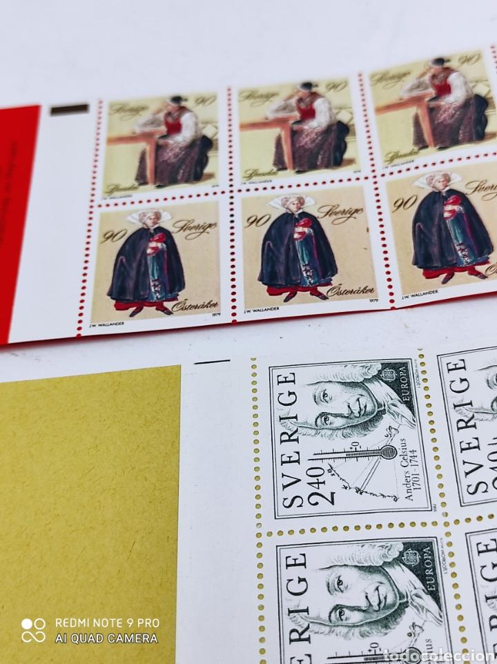 Sellos: Tres carnets de sellos de Suecia nuevos de los 80 - Foto 4 - 269745583