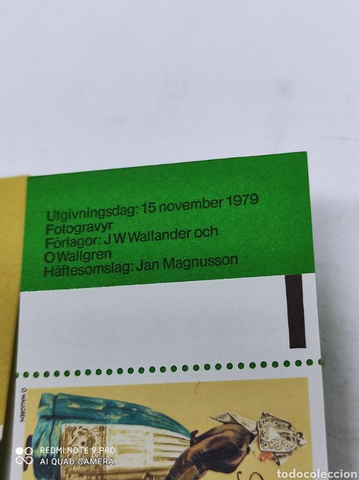 Sellos: Tres carnets de sellos de Suecia nuevos de los 80 - Foto 5 - 269745583