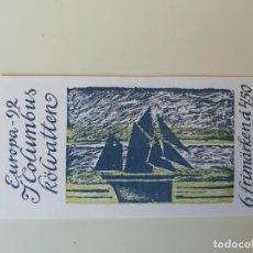Sellos: CARNET BARCOS SUECIA (2). Lote 275859218