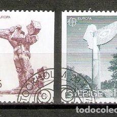 Sellos: SUECIA. 1974. YT 831,832. EUROPA. Lote 277133563