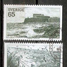 Sellos: SUECIA. 1974. YT 833/837. TURISMO.. Lote 277133763