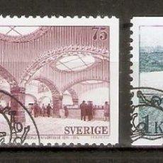 Sellos: SUECIA. 1974. YT 838A, 840. Lote 277134058