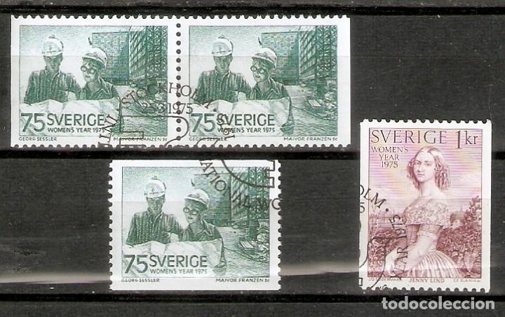 SUECIA. 1975. YT 871, 871A,872 (Sellos - Extranjero - Europa - Suecia)