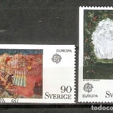 Sellos: SUECIA. 1975. YT 880,881. EUROPA. Lote 277143773