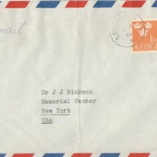 Sellos: CORREO AEREO: SUECIA 1959. Lote 277214653
