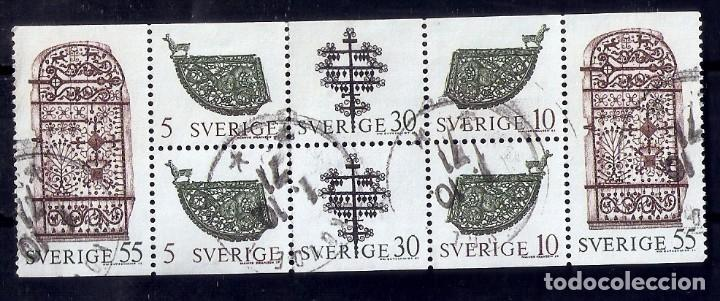 SUECIA.1970. YT 646/649. TIRA CARNET C646 (Sellos - Extranjero - Europa - Suecia)