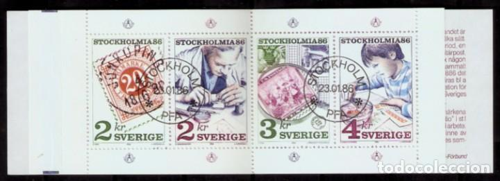 SUECIA.1986. YT 1357/1360. CARNET C1357 (Sellos - Extranjero - Europa - Suecia)