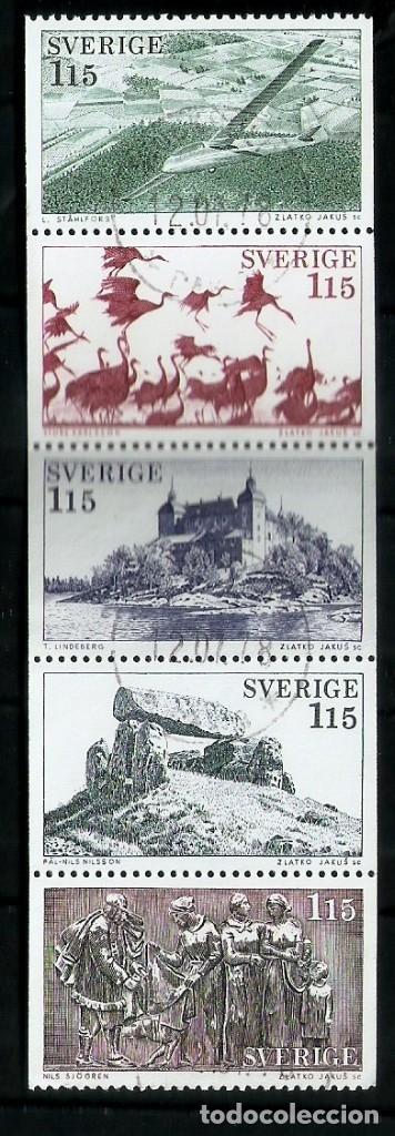SUECIA.1984. YT 1011/1015 (Sellos - Extranjero - Europa - Suecia)