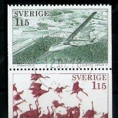 Sellos: SUECIA.1984. YT 1011/1015. Lote 278323178