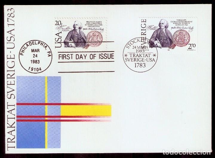 SUECIA.1983. FDC. YT 1214 (Sellos - Extranjero - Europa - Suecia)