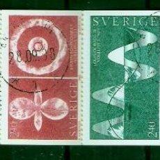 Sellos: SUECIA.1982. YT 1196/1200. CARNET C1196. Lote 278324283