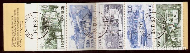 SUECIA.1977. YT 980/984. CARNET C980 (Sellos - Extranjero - Europa - Suecia)