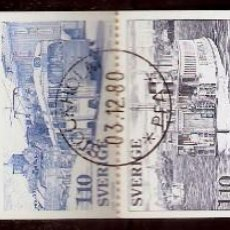 Sellos: SUECIA.1977. YT 980/984. CARNET C980. Lote 278324608