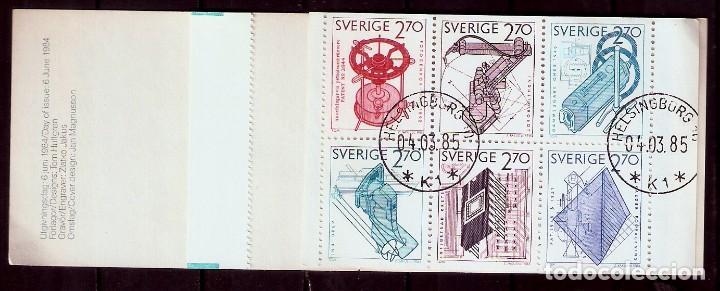 SUECIA.1984. YT 1264/1267. CARNET C1264. (Sellos - Extranjero - Europa - Suecia)