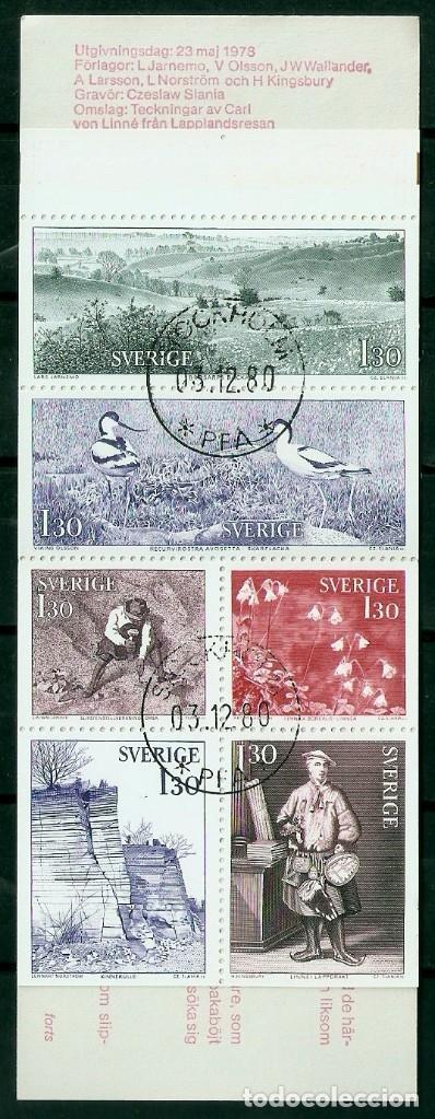 SUECIA.1978. YT 1005/1010. CARNET C1005 (Sellos - Extranjero - Europa - Suecia)
