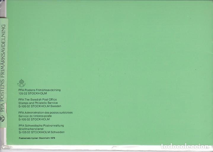 Sellos: 1978 AÑO COMPLETO DE SUECIA CON TODOS LOS SELLOS EMITIDOS EN 1978 EN SU CARPETA OFICIAL - Foto 2 - 287734503