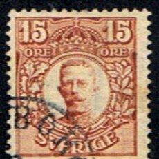 Sellos: SUECIA // YVERT 65 // 1910-19 ... USADO. Lote 287763053