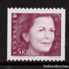 Sellos: SUECIA 1643** - AÑO 1991 - REINA SILVIA. Lote 292612873