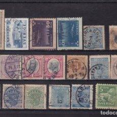 Sellos: FC3-26- SUECIA .LOTE SELLOS CLÁSICOS / ANTIGUOS. Lote 294048578