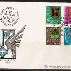 Sellos: SUIZA,SPD,PRO JUVENTUD 1978,SERIE COMPLETA.. Lote 27077198