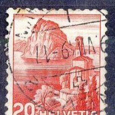 Sellos: SUIZA 1938. LAGO LUGANO. Lote 52588577