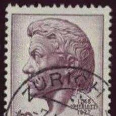 Sellos: SUIZA 1946. 200 ANIVERSARIO DEL NACIMIENTO DE JOHANN HEINRICH PERTOLOCH, REFORMADOR EDUCATIVO. Lote 52588570