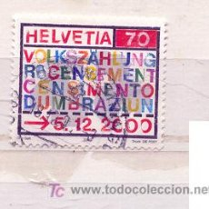 Stamps - Suiza 2000. Censo Suizo - 7466337