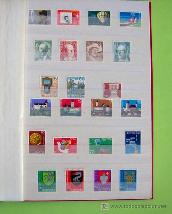SELLOS DE SUIZA AÑO 1979 COMPLETO. (Sellos - Extranjero - Europa - Suiza)
