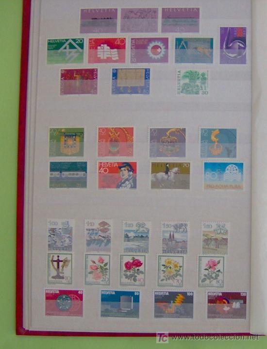 SELLOS DE SUIZA AÑO 1982 COMPLETO. (Sellos - Extranjero - Europa - Suiza)