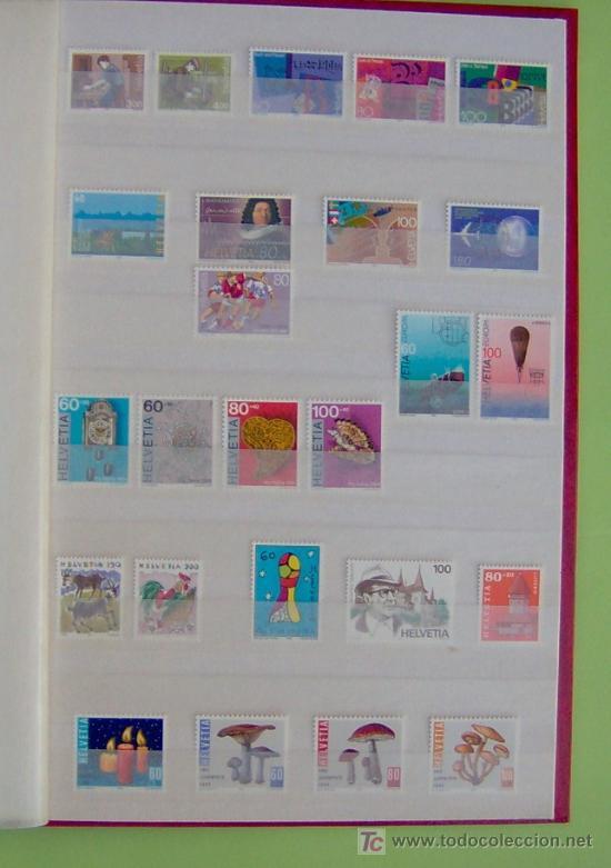 SELLOS DE SUIZA AÑO 1994 COMPLETO. (Sellos - Extranjero - Europa - Suiza)