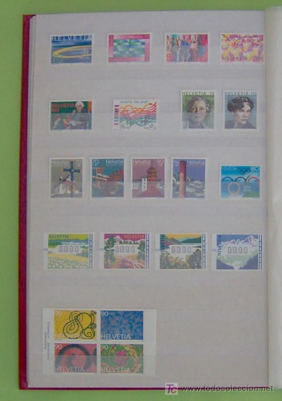 SELLOS DE SUIZA AÑO 1996 COMPLETO. (Sellos - Extranjero - Europa - Suiza)