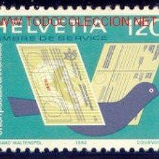 Sellos: SUIZA 1983 462 SERVICIOS 1V . Lote 1876110