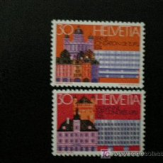 Sellos: SUIZA 1974 IVERT 956/7 *** 17º CONGRESO DE LA UNIÓN POSTAL UNIVERSAL - U.P.U.. Lote 10239013
