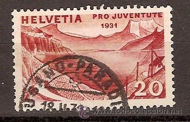 SELLO SUIZA 59 ZUMSTEIN PRO JUVENTUD 1931 (Sellos - Extranjero - Europa - Suiza)