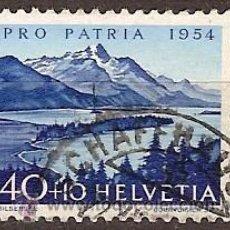 Sellos: SELLO SUIZA 70 ZUMSTEIN PRO PATRIA 1954. Lote 24872984
