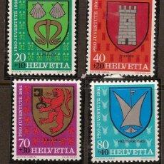 Sellos: SELLO SUIZA 277-280 ZUMSTEIN PRO JUVENTUD 1981 . Lote 12216594