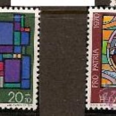 Sellos: SERIE SUIZA 146-149 ZUMSTEIN PRO PATRIA 1970 . Lote 12216627