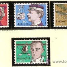 Stamps - SERIE SELLOS SUZIA 582-585 ZUMSTEIN PROPAGANDA 1977 FIJASELLOS - 26600836