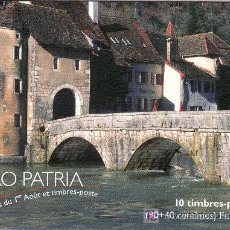 Sellos: SUIZA 1759C CARNET, PRO-PATRIA, PUENTE ST. JEAN A SAINT-URSANNE (JU). Lote 19309268