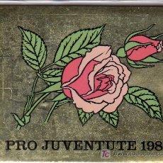 Sellos: SUIZA 1166C CARNET, PRO-JUVENTUD, FLORES, ROSAS,. Lote 19326977