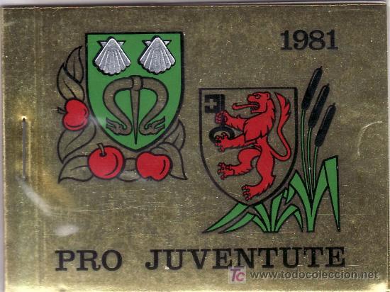 SUIZA 1139C CARNET, PRO-JUVENTUD, ESCUDOS, (Sellos - Extranjero - Europa - Suiza)